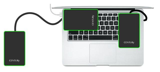 MacBookAir-USB3-HDDの位置