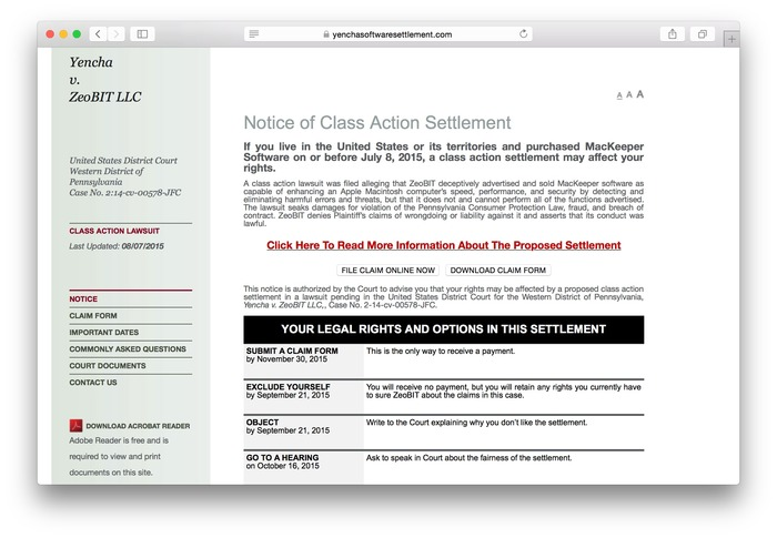 Class-Action-Settlement-MacKeeper