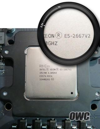 OWCによるMacPro-Late2013のCPU換装2