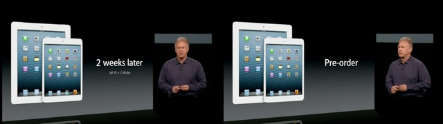 iPad4とiPad-mini-Cellularの発売日
