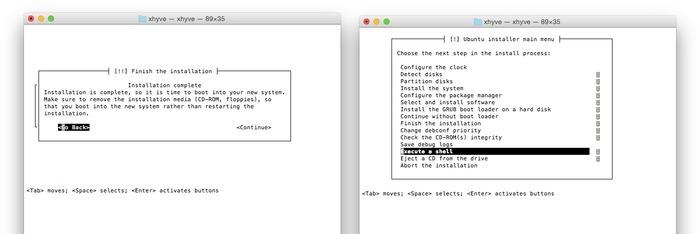 Ubuntu-Finish-the-installation-Execute-a-shell