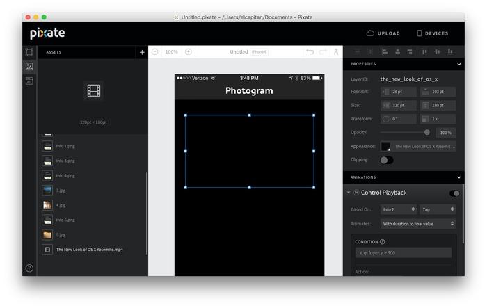 Pixate-Studio-mp4-support
