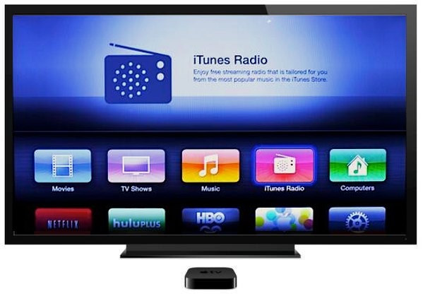 Apple TV Update iTunes Radio Support