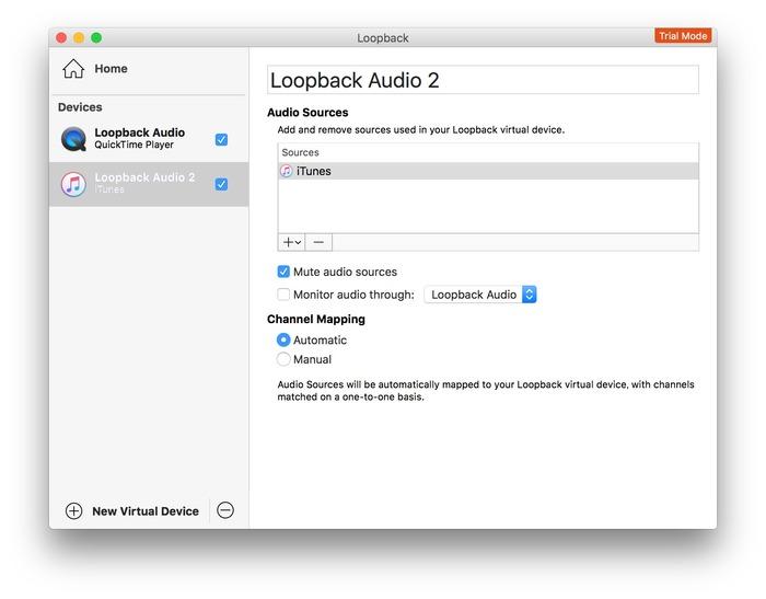 Loopback-iTunes
