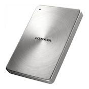 I-O DATA USB 3.0/2.0対応 ポータブルハードディスク「カクうす」1.0TB シルバー HDPX-UTA1.0S