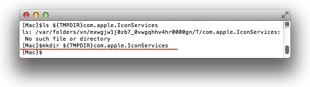 mkdir-TMPDIR-com-apple-IconServices