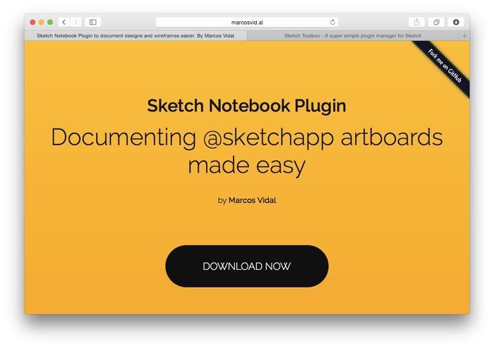 Sketch-Notebook-Plugin