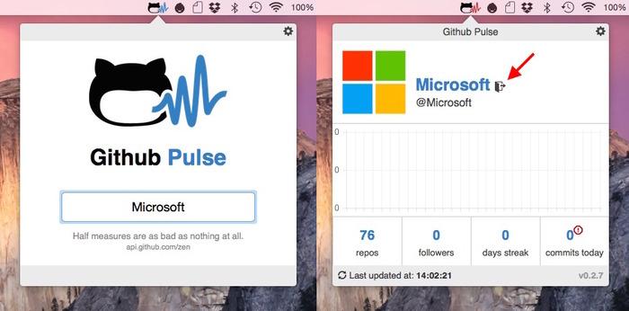 GitHub-Pulse-Microsoft