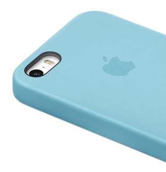 iPhone 5s Case ブルー Back