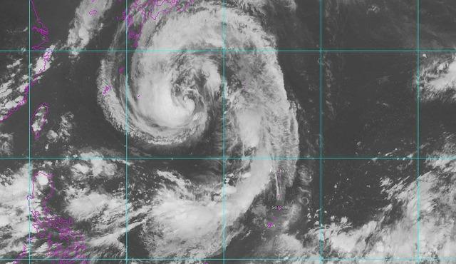 2013年9月15日台風18号の腕