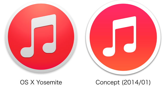 iTunes-Yosemite-vs-Concept