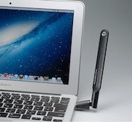 PLANEX 無線LAN子機 (USBアダプター型) ハイパワーアンテナモデル 11ac/n/a/g/b 433Mbps GW-450D KATANA