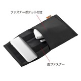 SANWA SUPPLY MacBook Air用インナーケース 11インチ用 ブラック IN-AMAC11BK