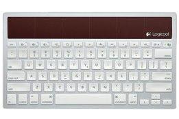 LOGICOOL ワイヤレス ソーラーキーボード k760