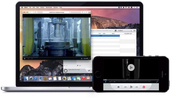 Network-Player-Media-Server-iPhone-and-Safari