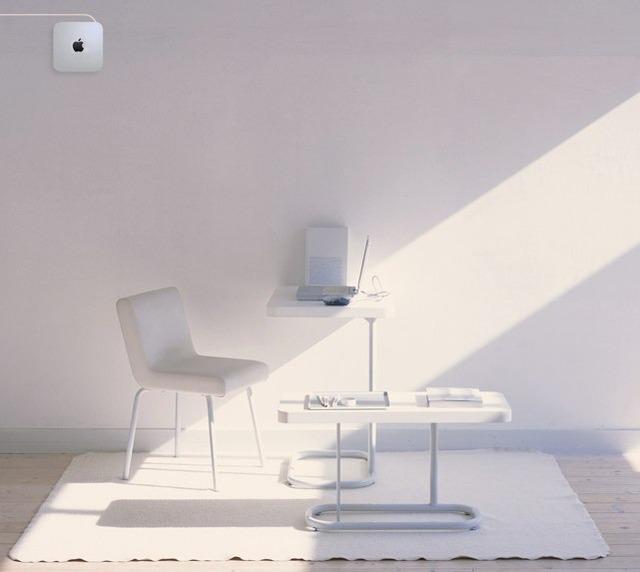 壁掛けMac mini