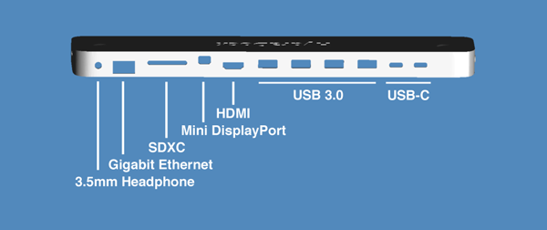 MacBook-Dock-HydraDock-Port