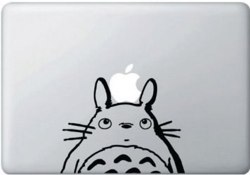 MacBook 対応 アートステッカー ジブリ 隣のトトロ (大) 並行輸入品