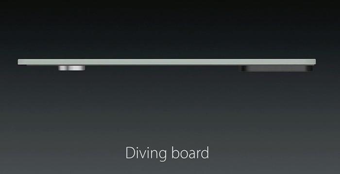 ダイビングボード