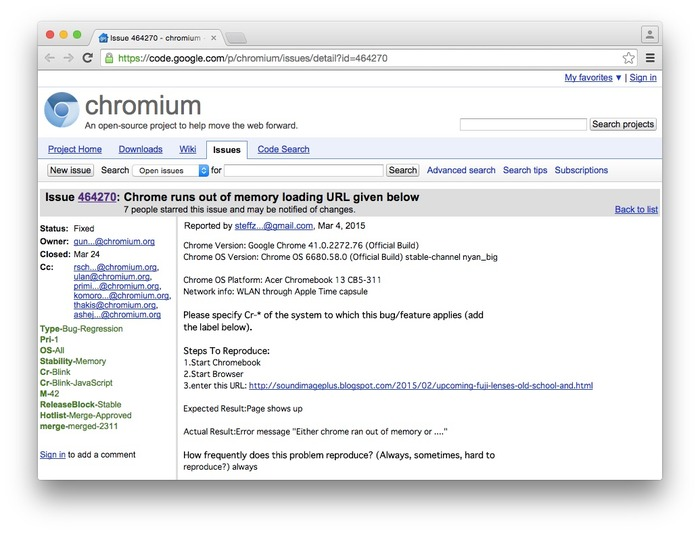 Google-Chrome-41-on-long-URL-Crash-chromium