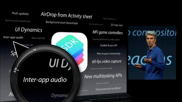 Inter-app audio hero