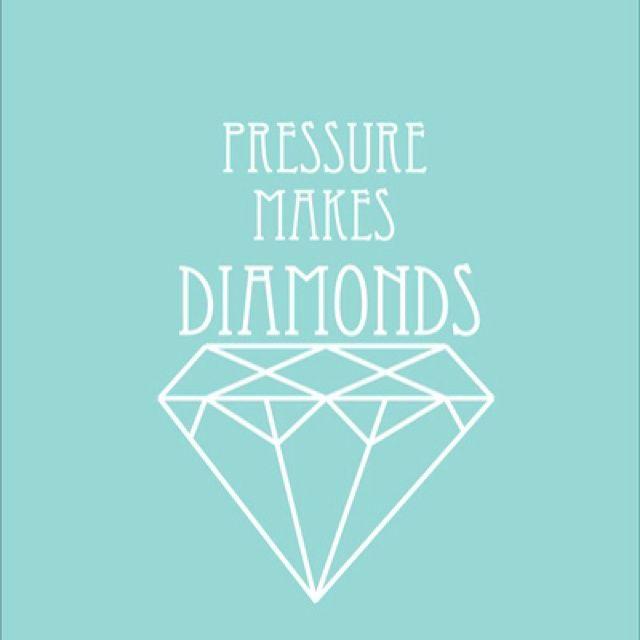 Pressure Makes Diamond: English Lounge:Pressure Makes Diamonds.