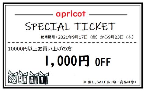10000円1点1000円