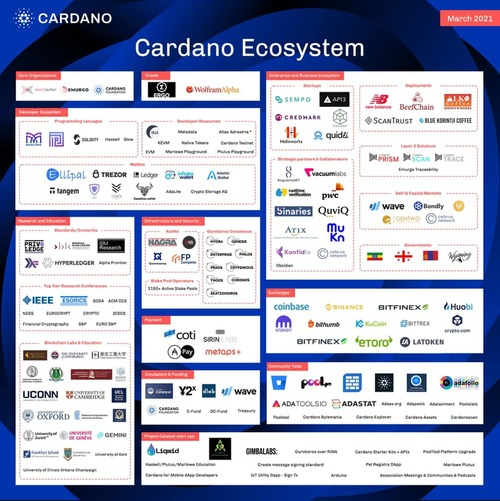 202103Cardano Ecosystem