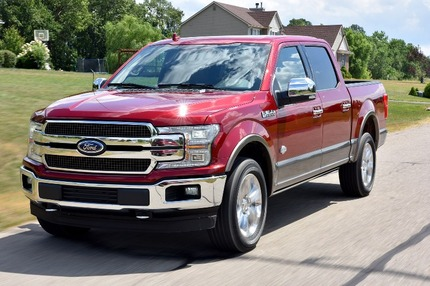 2018-Ford-F-150-front-three-quarter-in-motion-06