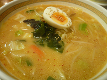 めん峯-味噌中華