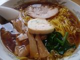 拉麺にしき花輪店-醤油(濃い口)