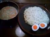 つけ麺や 坦担-つけ麺(胡麻)+煮玉子