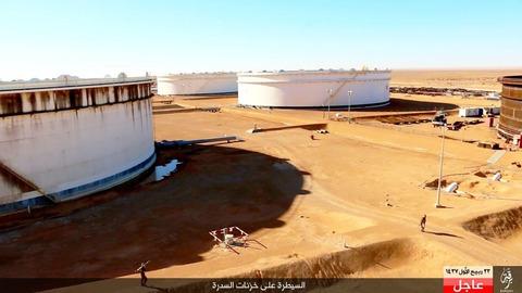 イスラム国が制圧したシドラの石油施設1