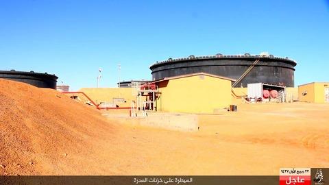 イスラム国が制圧したシドラの石油施設2