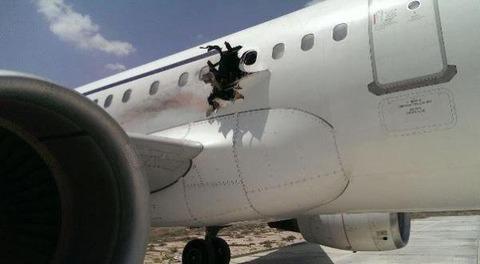 アッシャバーブの作戦により爆破された機体