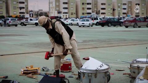 楽器の破壊
