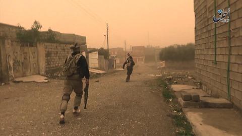 モスル東部インティサル地区の戦況1
