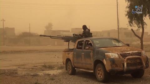 モスル東部インティサル地区の戦況2