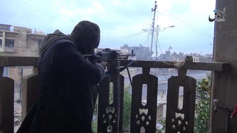 モスル東部第2カデシヤ地区での戦闘4