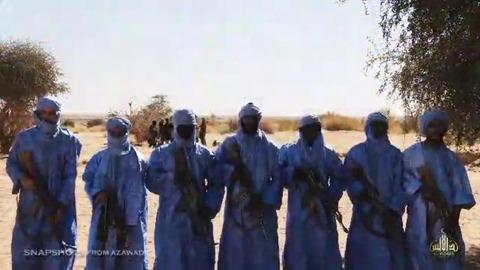 「蒼き衣の者」トアレグ人のジハード戦士たち
