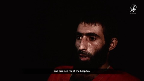 空爆の戦果を撮影に行き負傷してしまい、イスラム国によって逮捕
