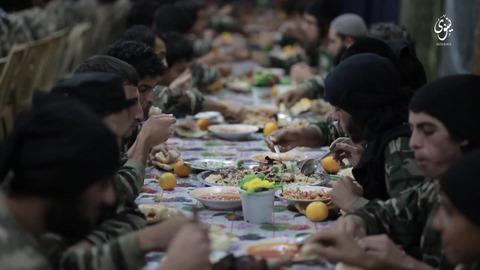 イスラム国食事