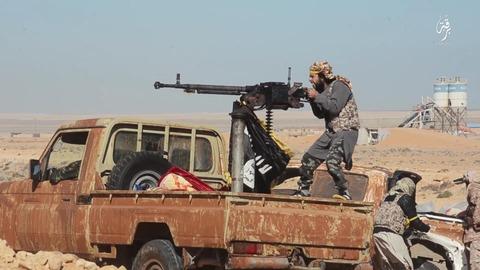 イスラム国のジハード戦士の勇姿