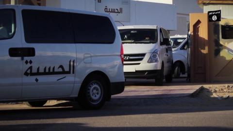 宗教警察「ヒスバ」のパトロール車両