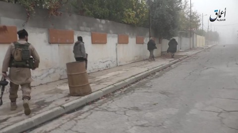 モスル北東部ムハリビン地区での戦闘1