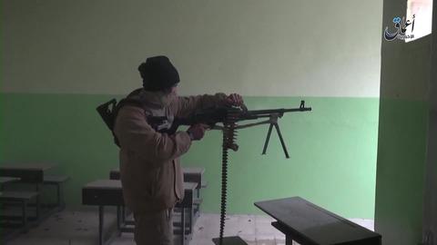 モスル東部第2カデシヤ地区での戦闘1