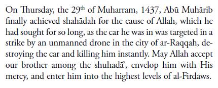 Jihadi Johon's Martyrdom
