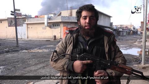 ドイツ語話者のイスラム国ジハード戦士