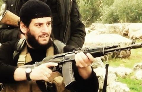 イスラム国公式スポークスマンのアブムハンマド・アドナーニ