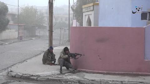 モスル北東部ムハリビン地区での戦闘2